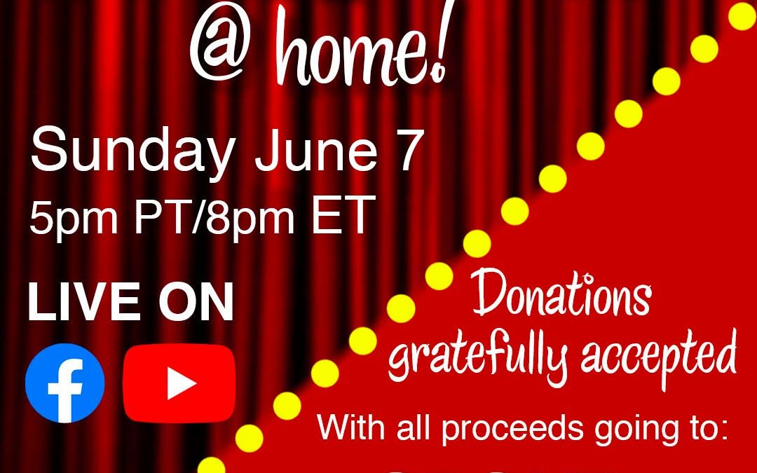 GRT Benefit Concert Live Stream This Sunday @ 5pm