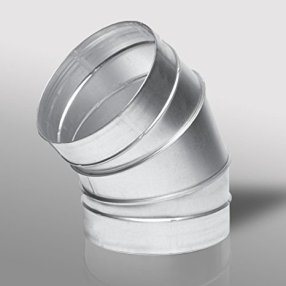 45 Degree Segmented Metal Bend