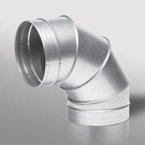 90 Degree Segmented Metal Bend