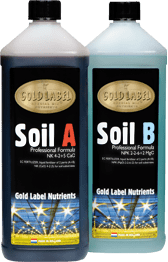Gold Label Soil A&B Base Nutrients