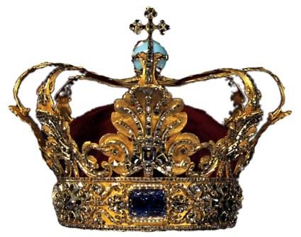 A crown, preferably stolen