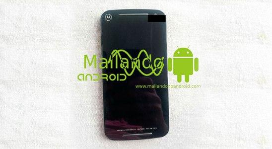 Motorola Moto G de segunda generación filtrado