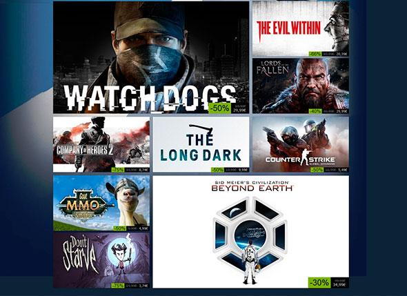 primeras ofertas de otoño de 2014 de Steam