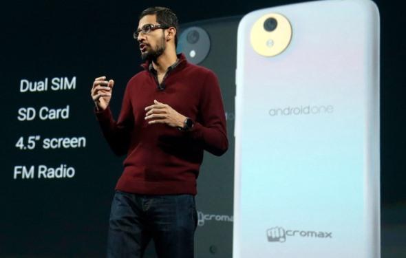 Android One Presentación Sundar Pichai