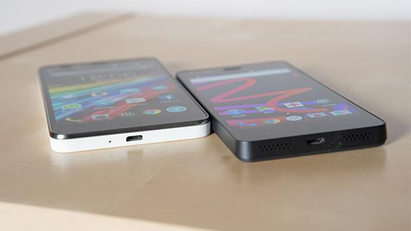 bq Aquaris M4.5 vs Energy Phone Pro HD