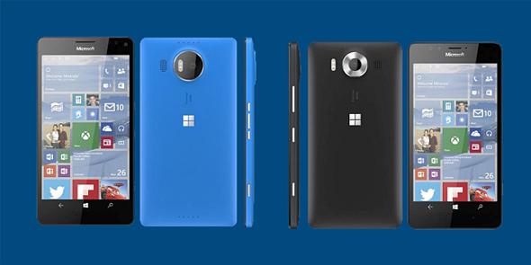 Lumia 950 XL interior