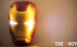 Ironman luz LED