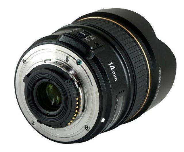 Yongnuo 14 mm f/2.8 para Nikon