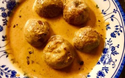PANEER KOFTAS OR COTTAGE CHEESE BALLS IN TOMATO GRAVY
