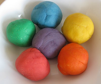 Messy play dough