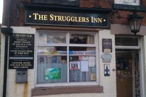 Strugglers Inn Frontage