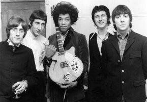 With Jimi Hendrix