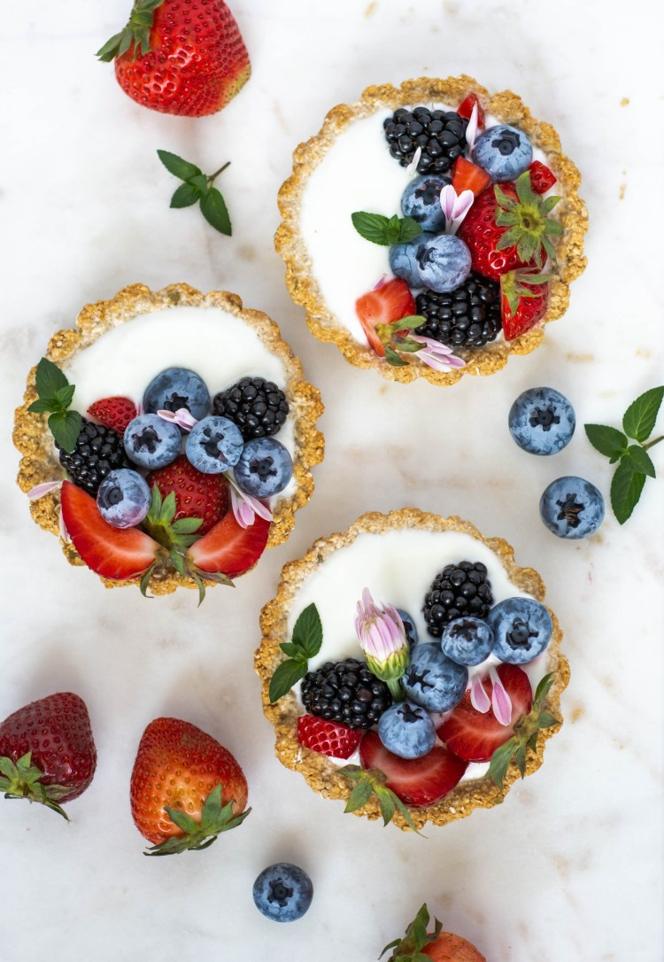 Breakfast Tarts in a serving tray