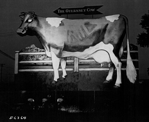 The Guernsey Cow Sign in Exton PA