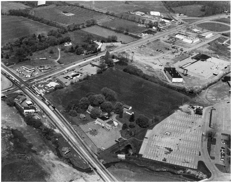 The Guernsey Cow and Exton, PA Crossroads circa 1974
