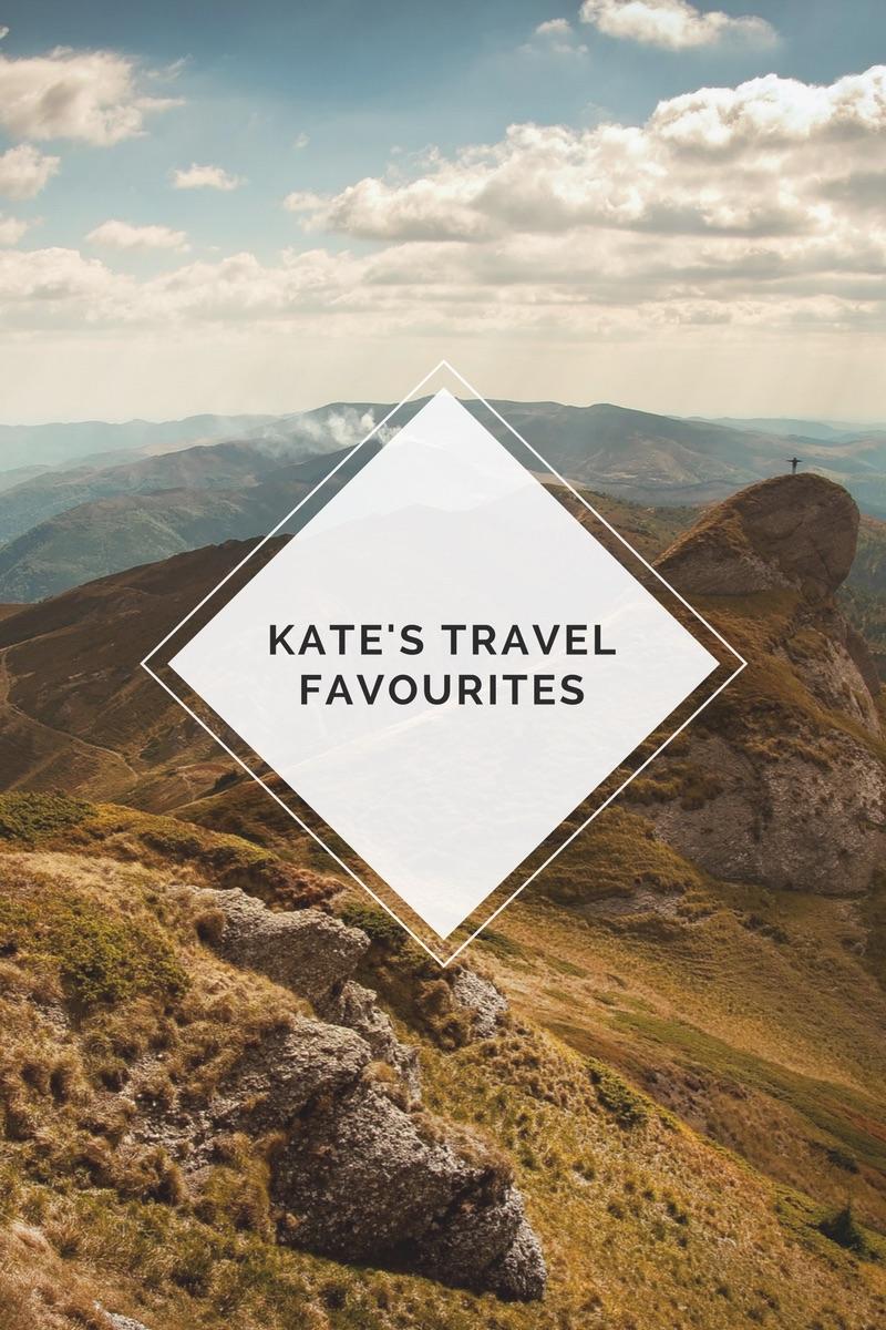 Kate's travel favourites