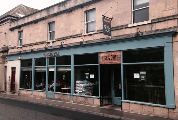 Review: The Scallop Shell, Bath – best fish & chips in Bath if not the UK!