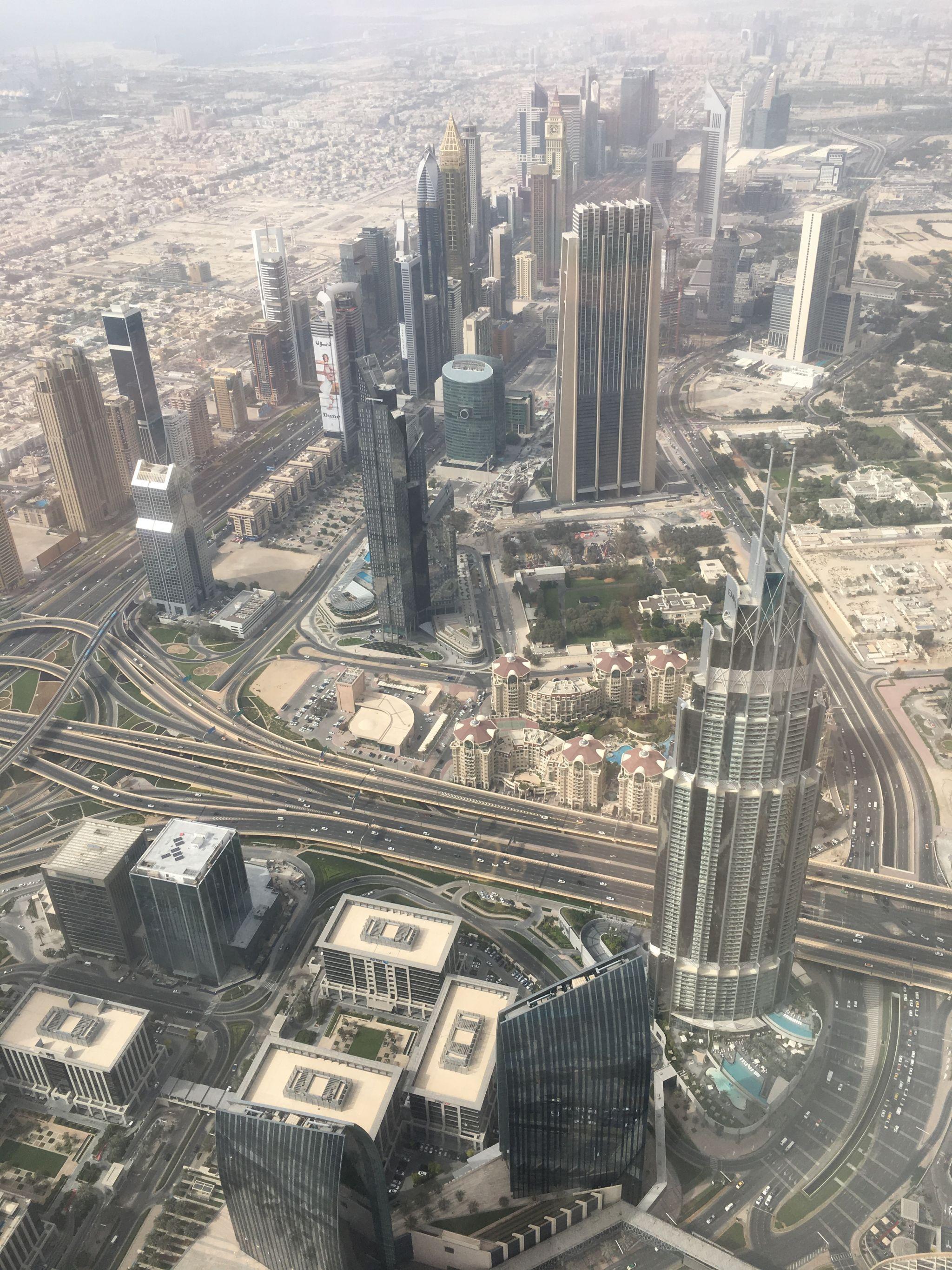 View-DIFC-Burj-Khalifa