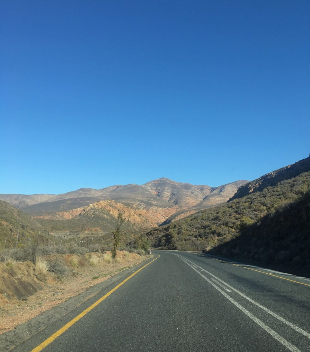 Driving the R62 – South Africa