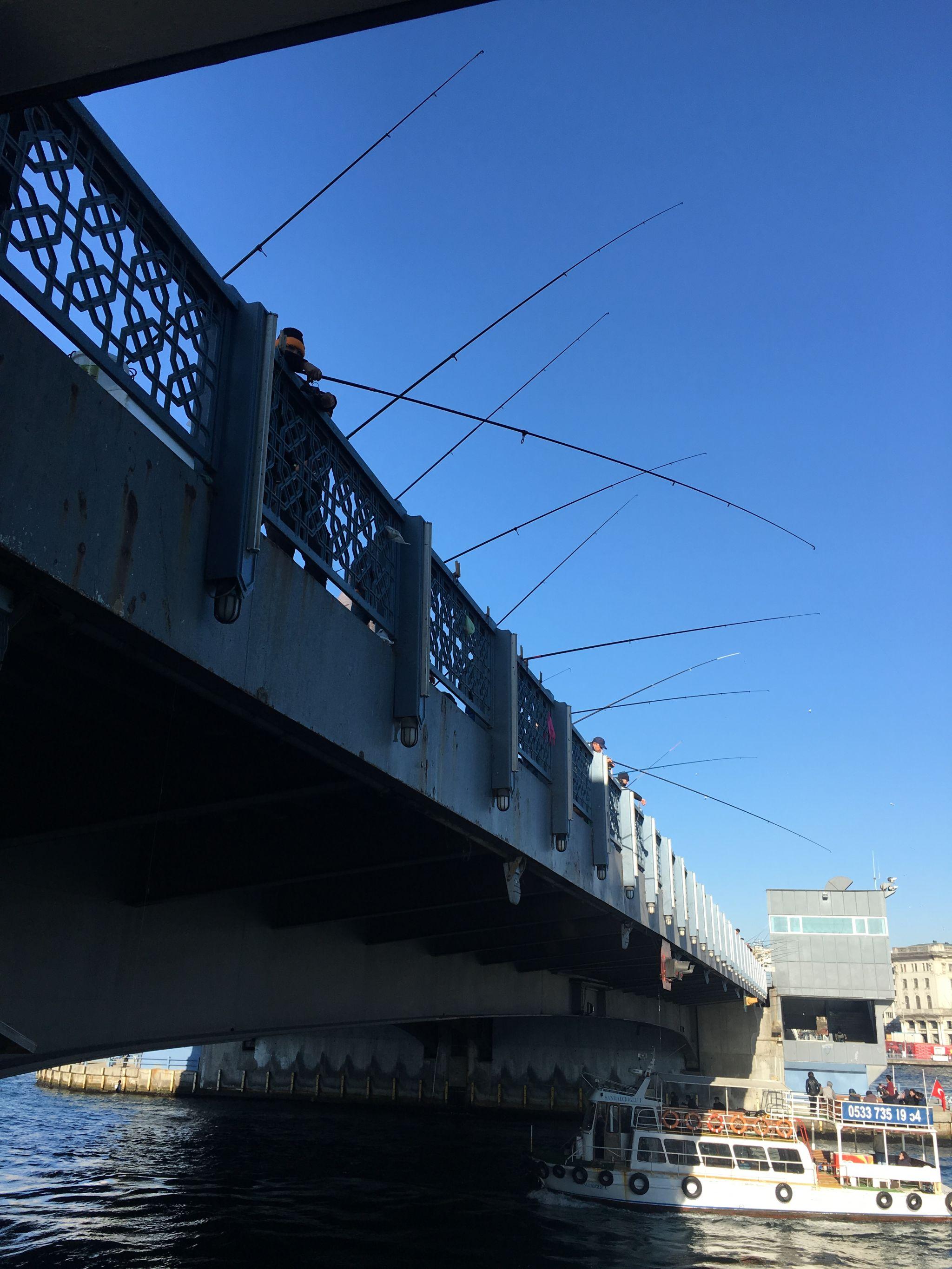 Galatas Bridge, Istanbul