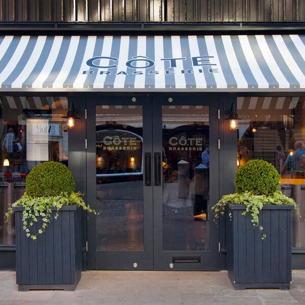 Best restaurants Chester Cote
