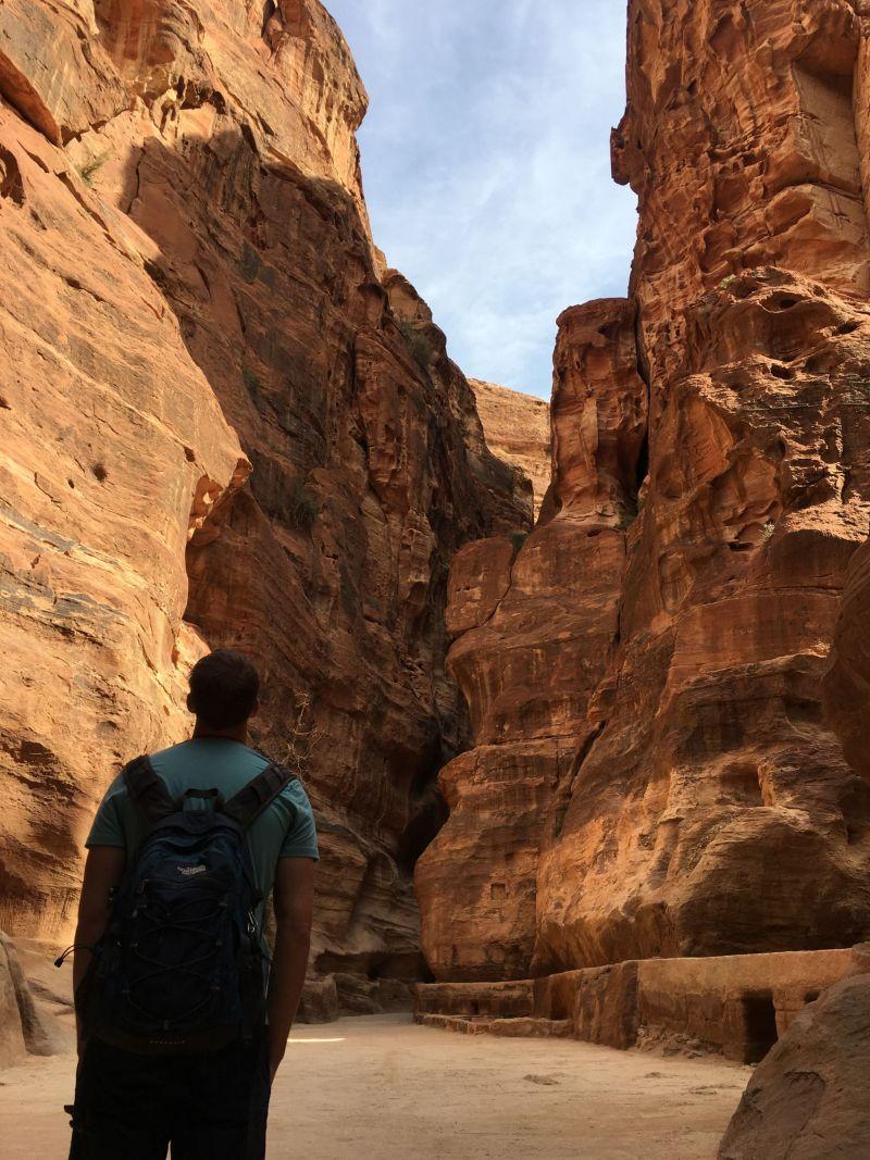 The Siq, Petra Jordan