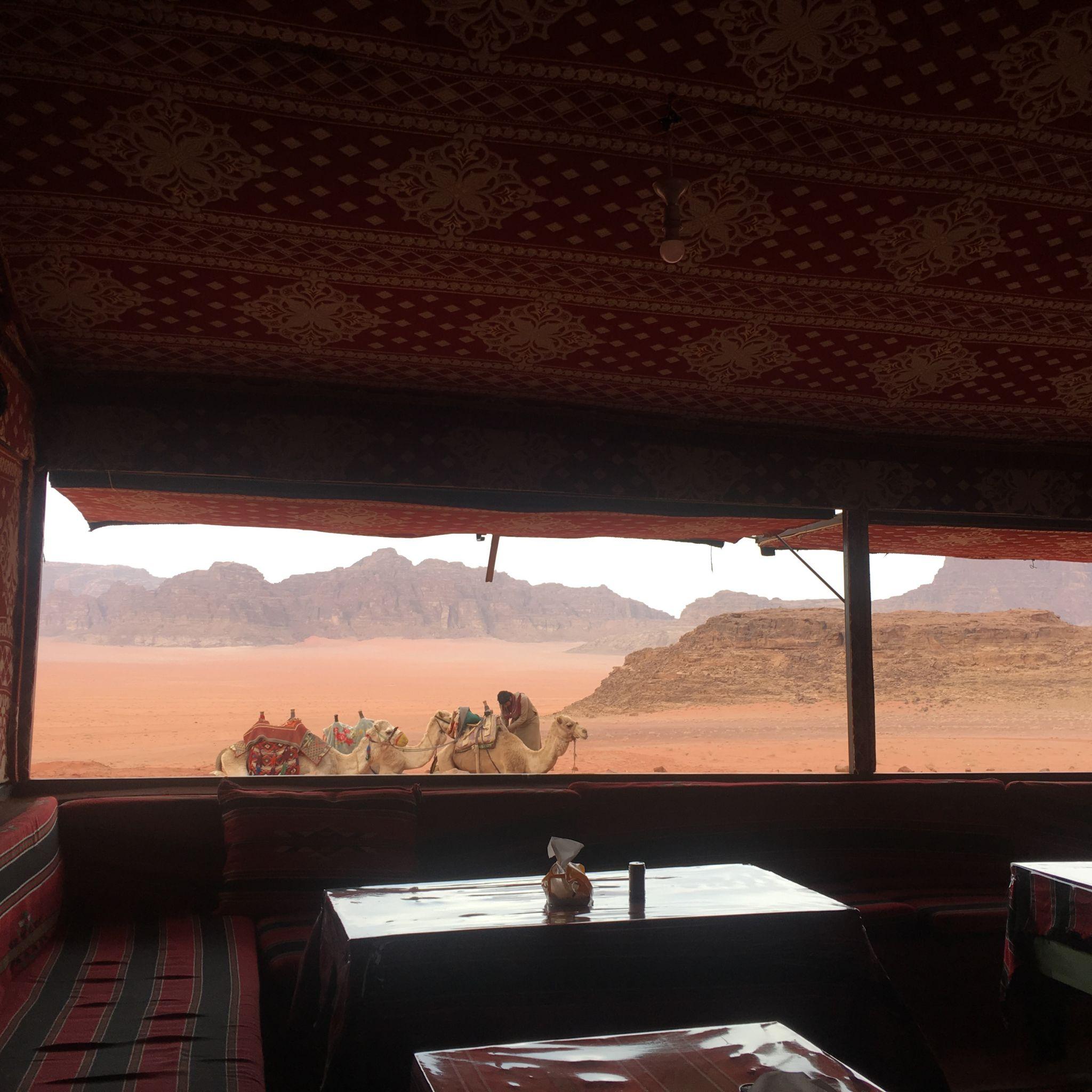 Wadi Rum Bedouin Camp, Jordan