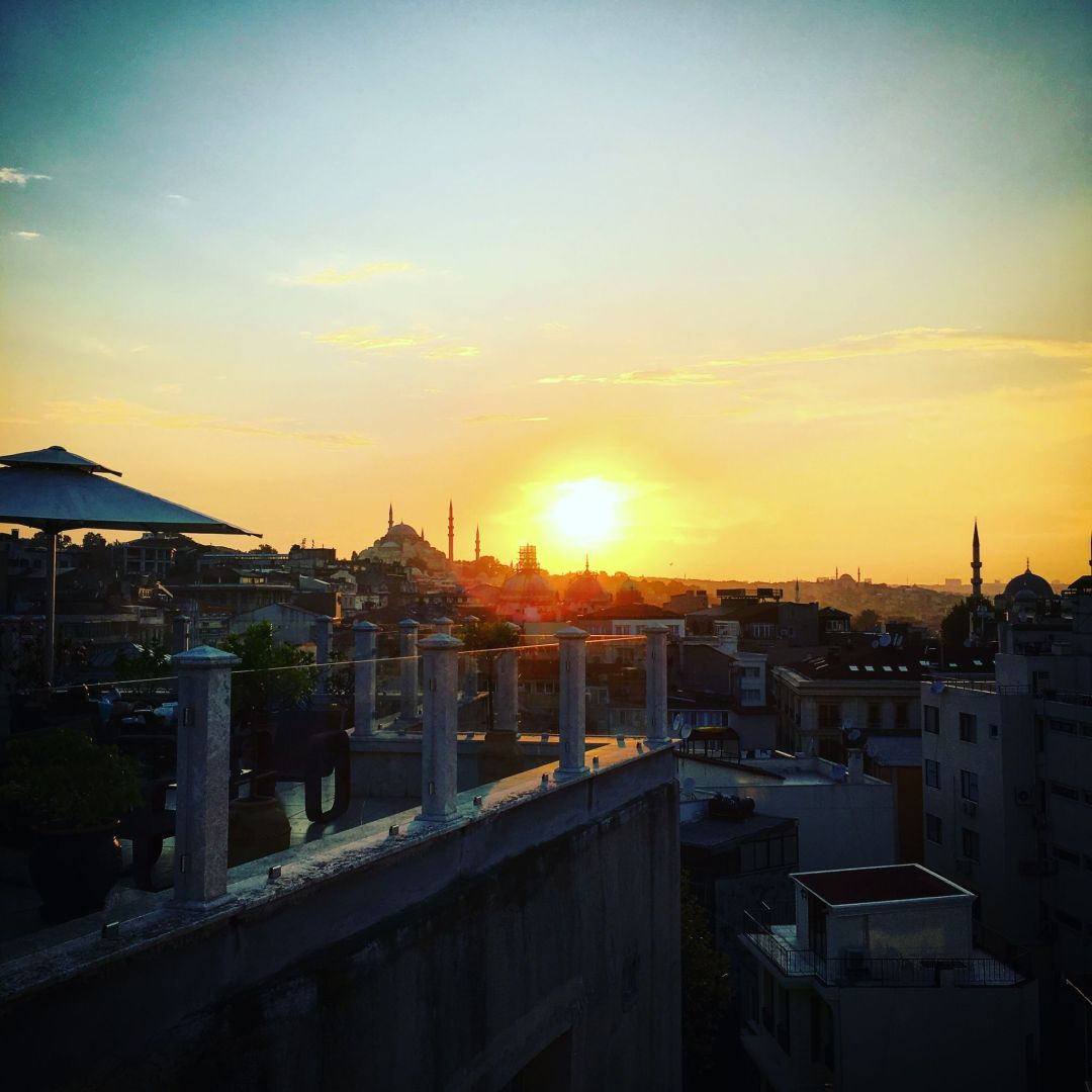 Sunset-view-Blue-Mosque-Istanbul
