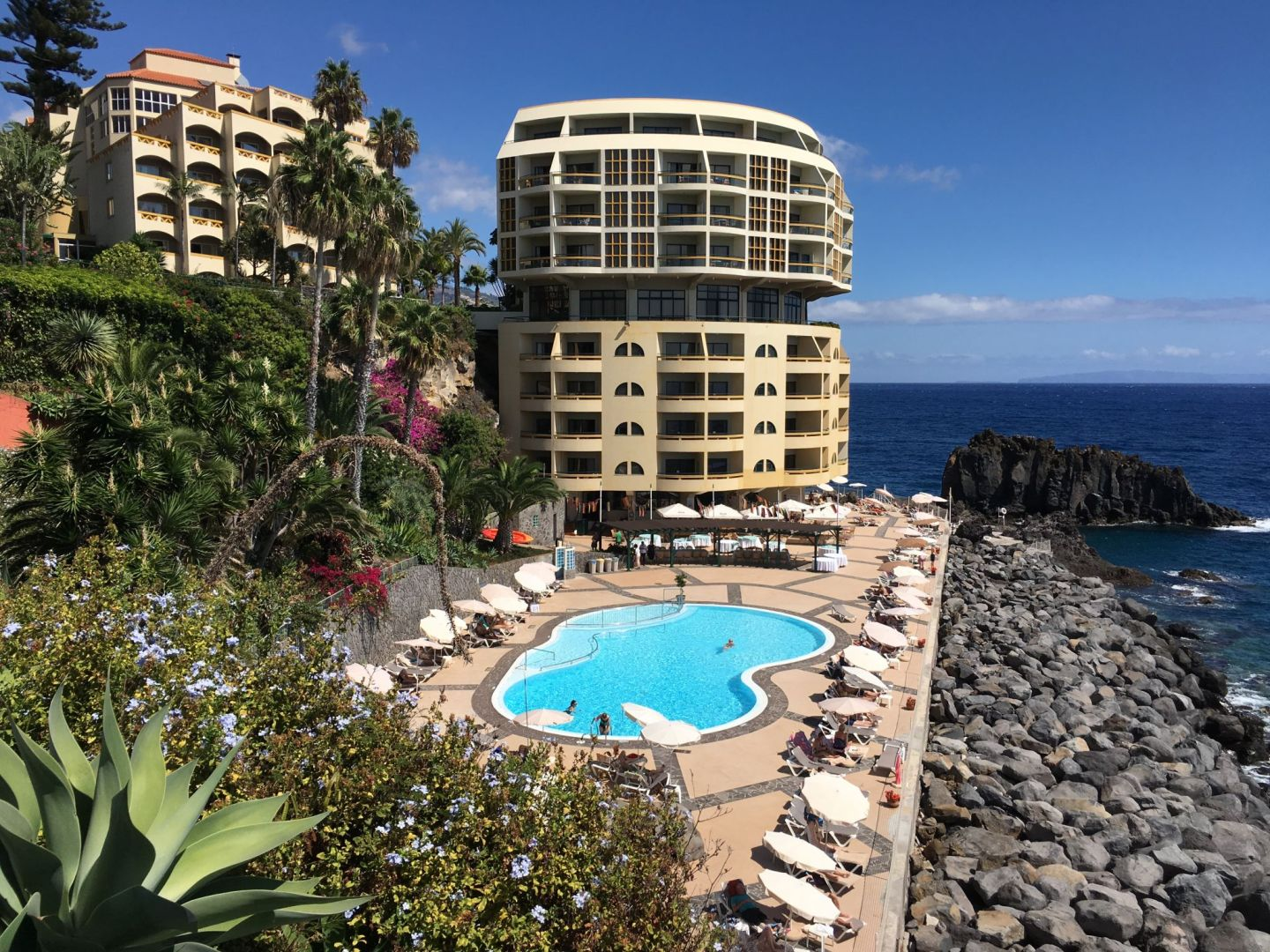 Funchal sea front