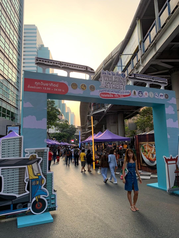 Silom-walking-Street-Bangkok