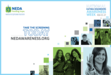 NEDA - National Eating Disorders Awareness Week
