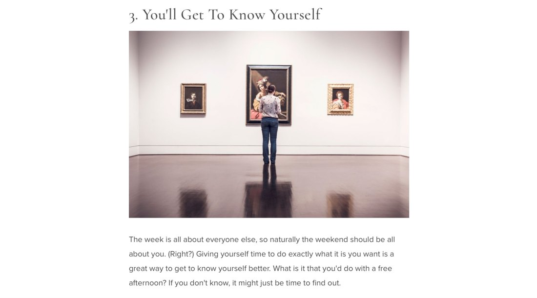 11 Healthy Reasons Why You Should Spend This Weekend Alone page 5