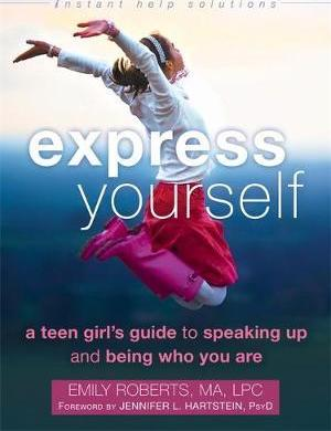 Express Yourself Book for Teen Girls