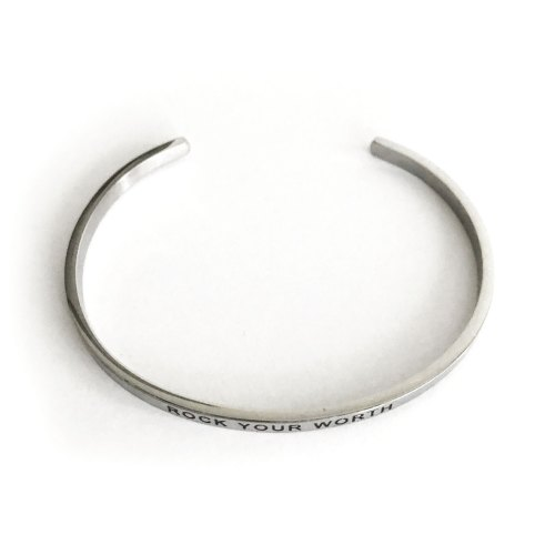 Rock Your Worth Bracelet