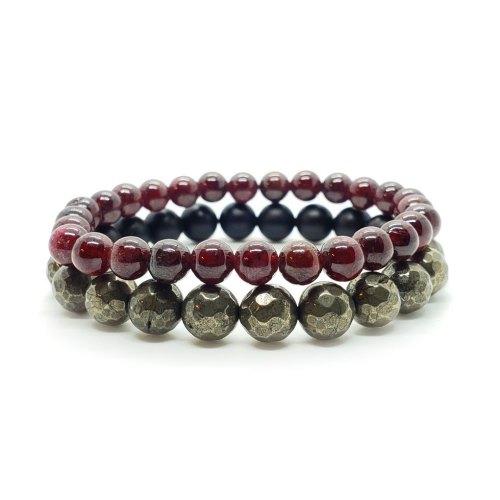Love and Abundance Bracelet Stack