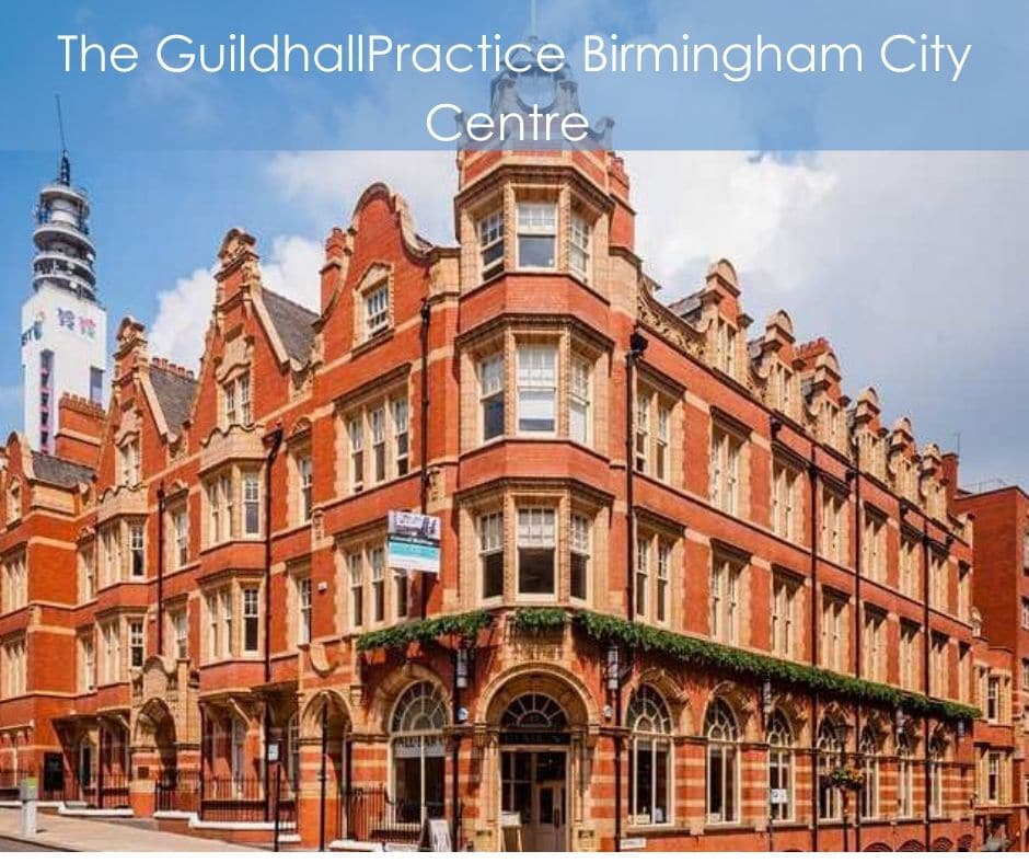 The Guildhall Practice Birmingham City Centre Osteopath