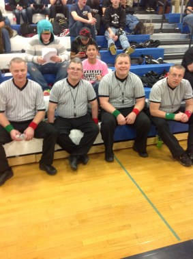 Larry Halvorson, Neil Pearson, Jared Culbertson and Dan Wessell