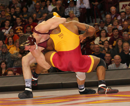 Action Photos from Iowa Sate at Minnesota