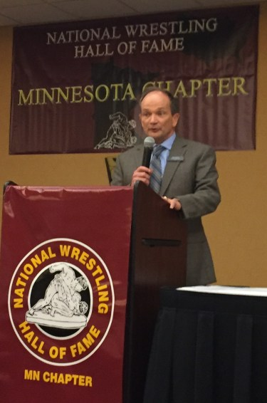 National Wrestling Hall of Fame Minnesota Chapter 2016 Honoree Tim Shiels,