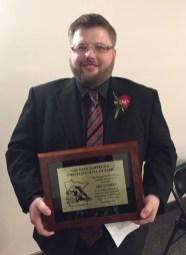2016 Bartelma Hall of Fame inductee Eric Sanders.