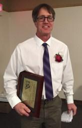 2016 Bartelma Hall of Fame inductee Joel Viss.