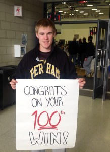 100th Win – Ben Nelson, Perham, 12th, 138 pounds