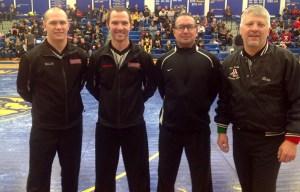 Wadena-Deer Creek Dennis Kaatz Memorial Invitational Referees: Brent Weller, Dustin Geiser, Brian Bakke and Chris Eztler