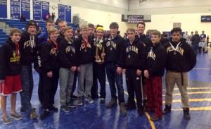 Wadena-Deer Creek Dennis Kaatz Memorial Invitational 1st Place: Perham Yellowjackets