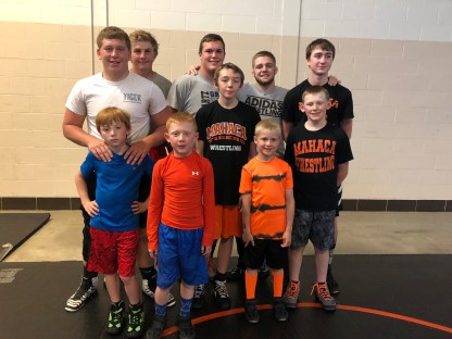 Greg Schwartz Memorial Wrestling Camp Takedown Champs.