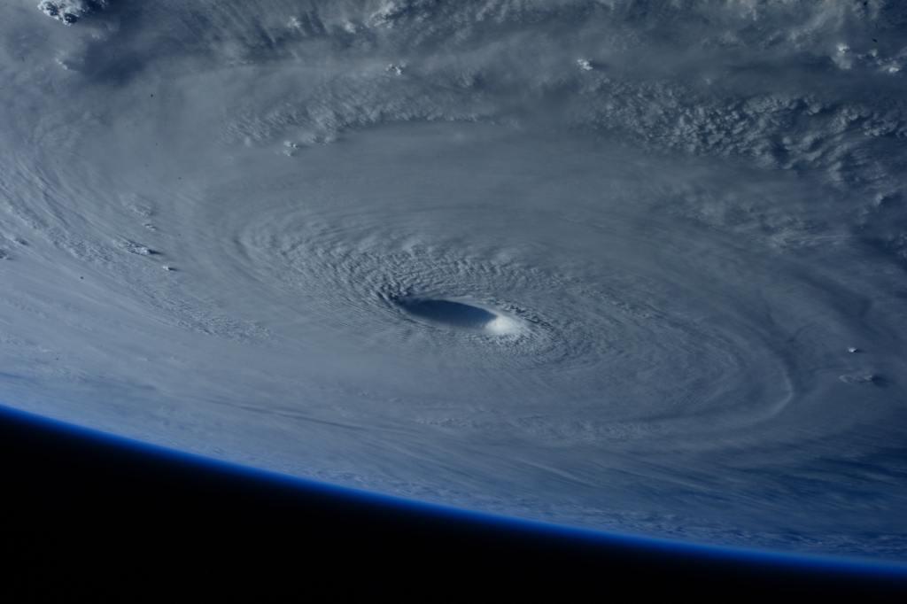 NASA image eye of a hurricane