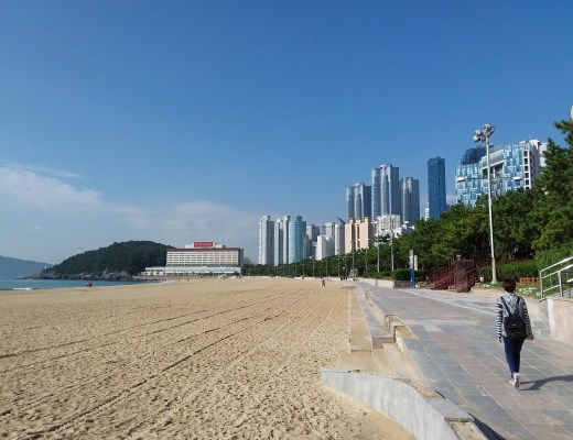 Beach at Busan