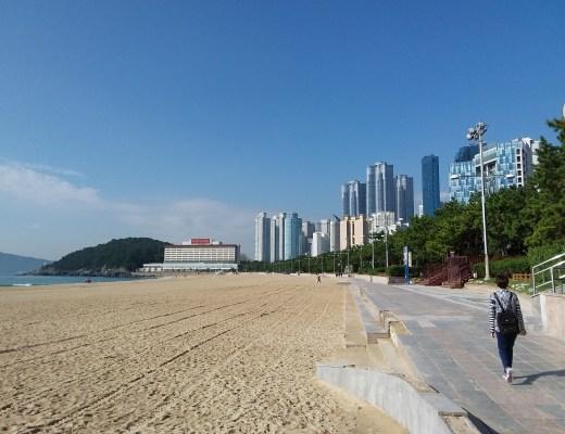 Beach at Busan