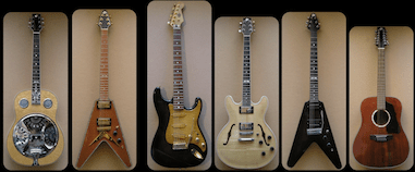 Guitares Pat Querleux