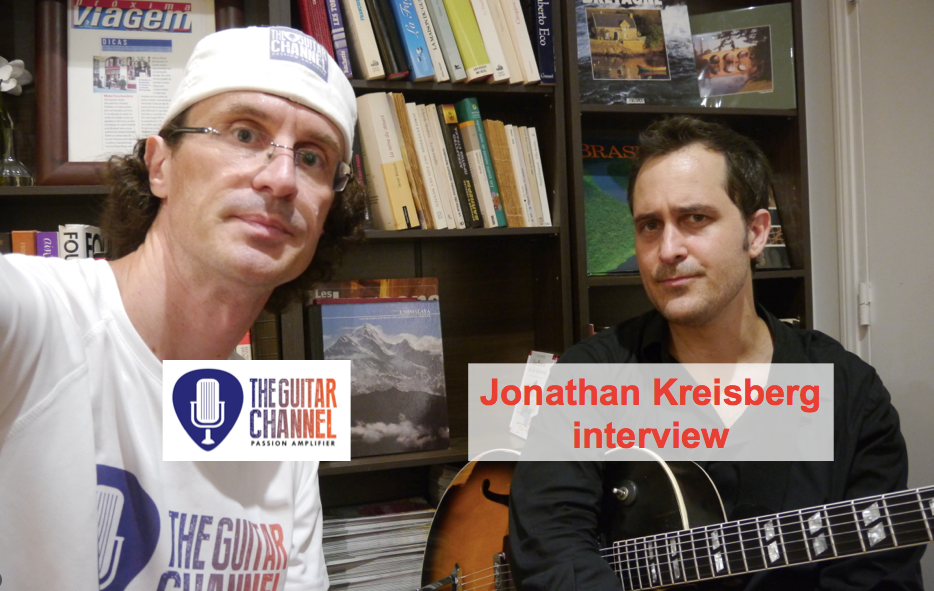 Jonathan Kreisberg interview, one of the hottest Jazz player around